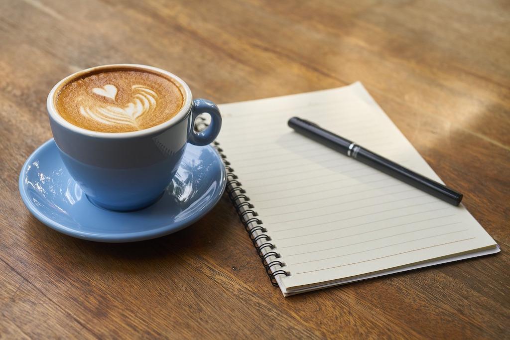 notebook-coffee