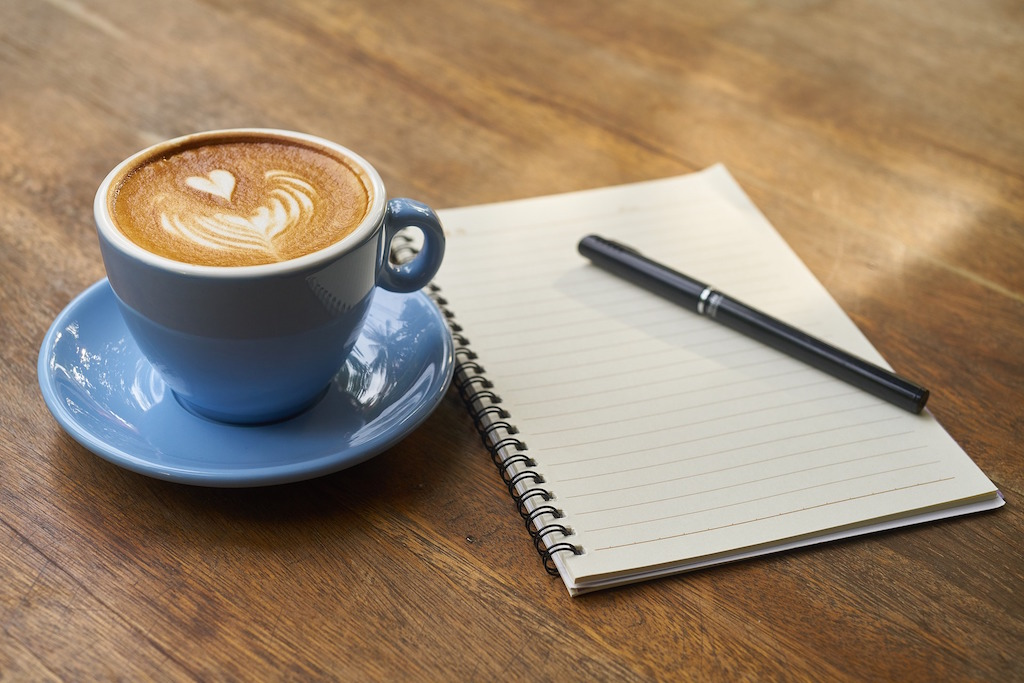notebook-coffee